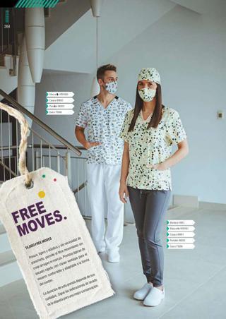 Sanitario Free Moves Workteam 2021